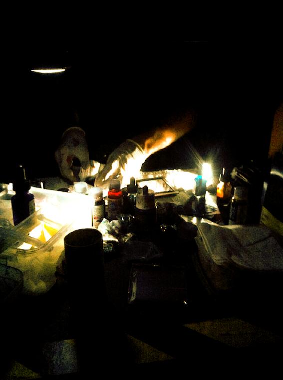 Julian Hand - Light Show - Film - Liquid Light Show - Projection